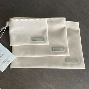 Burberry 3 Pouch Set! NEW!